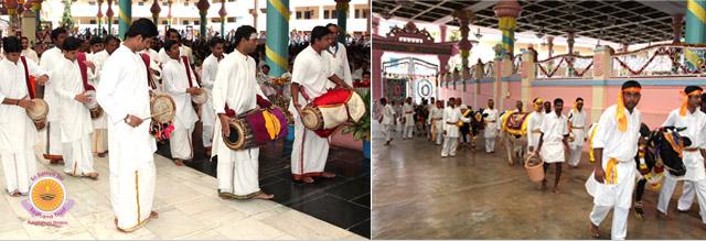 2014-Krishna janmashtami Celebrations at Prasanthi Nilayam